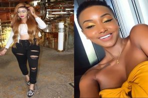 Kenyan socialites Vera Sidika and Huddah Monroe shade each other
