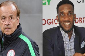 World Cup 2018: Gernot Rohr fires back at Okocha for criticizing his 4-2-3-1 formation
