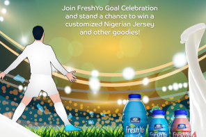 Win a Customized Nigerian Jersey and lots FreshYo this World Cup Season