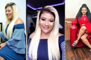 Actress Nkechi Blessing Turns Brand New Car Into Closet