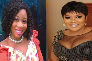 Actress Toriola blasts Toyin Abraham, accuses her of faking her engagement