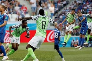 Russia 2018: Nigeria vs Iceland – Here is how popular Nigerians celebrated the victory