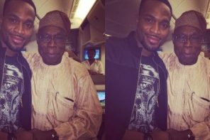 Olusegun Obasanjo expresses condolences to D'Banj on his son's death