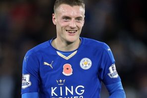 Vardy sees Red; Liverpool Fans React