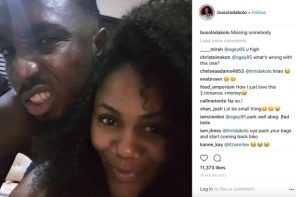 Busola Dakolo missing her husband, Timi Dakolo, shares bedroom photo