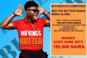Butter Dance Online Competition is Finally here… Are You Ready!!!!!! Win N150,000