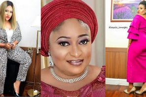Nkechi Blessing Stuns In New Photos, Throws Shade At Ronke Oshodi-Oke
