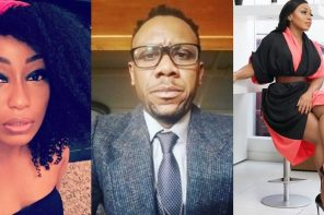 'Never argue with a mad man' – Rita Dominic reacts to Francis Atuma's comments