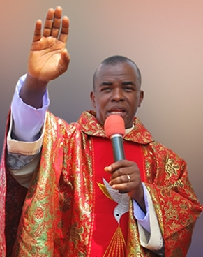 father mbaka addresses prayer chain circulating online on his behalf - Father Mbaka currently in a meeting with Buhari