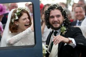 Game of Thrones actors, Kit Harington and Rose Leslie tie the knot in Scotland