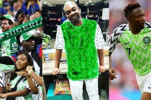 Check out Don Jazzy's Hilarious Reaction To Super Eagles' Victory Against Iceland