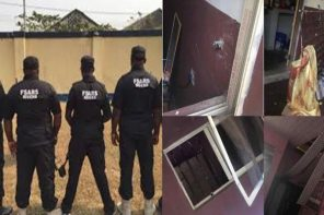 SARS operatives allegedly invade hostels at Adekunle Ajasin University in Ondo State at 4am (Photos)