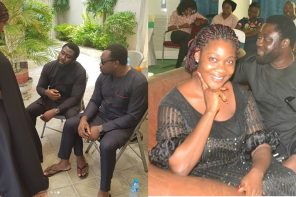 Mercy Johnson-Okojie buries her mother (photos)