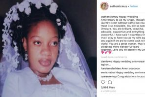 Muyiwa Ademola pens loving message to wife as they celebrate 12th wedding anniversary
