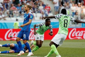Nigeria vs Iceland: Super Eagles Trash Iceland 2 goals to Nil