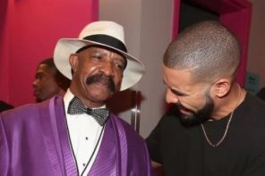 Rapper, Drake gifts his dad a $100k Bentley (photo)