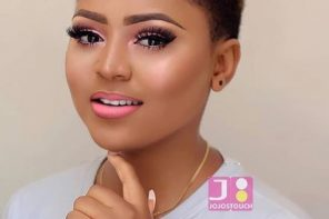 Regina Daniels flawless In New Makeup Photos