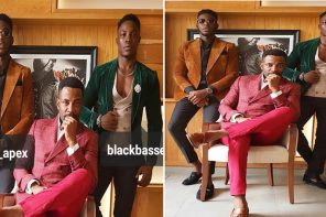Ebuka Obi-Uchendu, Soma & Bassey in lovely new photo