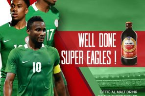 AMSTEL MALTA HAILS SUPER EAGLES AFTER TRIUMPH