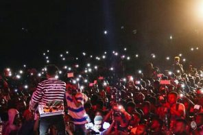 Reports Of Violence Trail Mayorkun's Ibadan Concert As Davido's Bouncer Fights