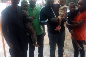 Woman And Her Children Arrested After Her Husband Bought A Stolen Phone (Photo)