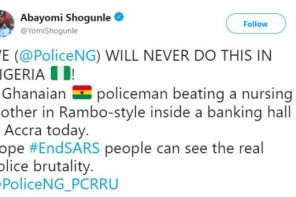 ACP Yomi Shogunle says Nigerian Police don't Beat Nursing Mothers & Nigerians Provide Receipts to the Contrary