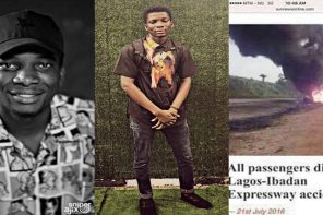 Filmmaker Lucas Oluwole remembers his parents, 2 siblings, 2 years after losing them in an accident