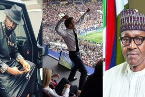 Jude Okoye reacts to France 2018 World Cup win, says Africans are stuck with fossils as President