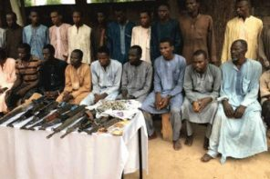Police Parade Kidnappers of Chibok Girls