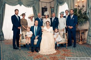 The Royal family releases official photos from Prince Louis' christening