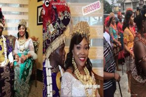 My wedding cost more than N10million – Olu Jacobs' daughter-in-law, Blessing Douglas claims