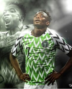 ahmed musa reacts after his goal got nominated for world cup goal of the tournament 241x300 - Just In: Super Eagles player, Ahmed Musa loses mum