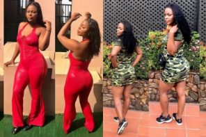 Endowed Nigerian Female Soldier Celebrates Her Birthday In Style…