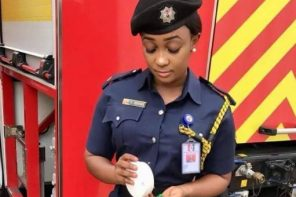Beautiful Nigerian fire fighter is trending online for the right reasons… (photos)