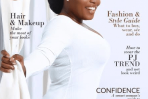 Bisola Aiyeola is on the cover of Celebrity Shoot Maginazine's latest edition