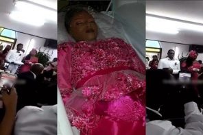 Corpse Bride: Man marries his dead fiancée at her funeral (Video)