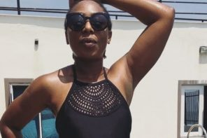 Dakore Egbuson Akande In Swimsuit (Photos)