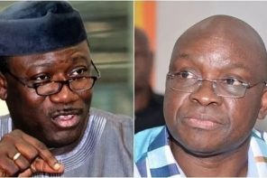 It Will Be 'Irresponsible' Of Me Not To Probe Fayose, Says Fayemi