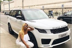 Femi Otedola buys his daughter DJ Cuppy a brand new 2018 Range Rover Sport