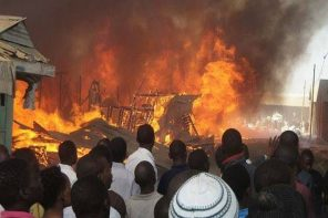 '270 Shops Destroyed, Properties Worth N70M' Lost As Fire Guts Jos Terminus Market