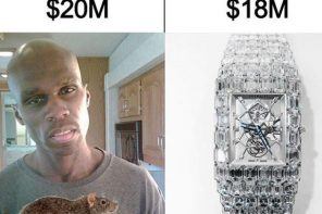 Floyd Mayweather slams 50 Cent again, compares his net worth to his $18M wristwatch