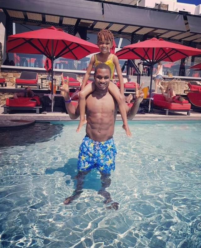 Footballer Odion Ighalo Spends Quality Family Time As They Go On Vacation In Greece Photos