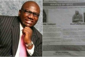 Funmilade Adeyemi who was declared wanted by the EFCC has been arrested