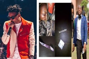 Mayorkun's concert marred with violence and s*x as Davido's bouncer assault journalist (Video)