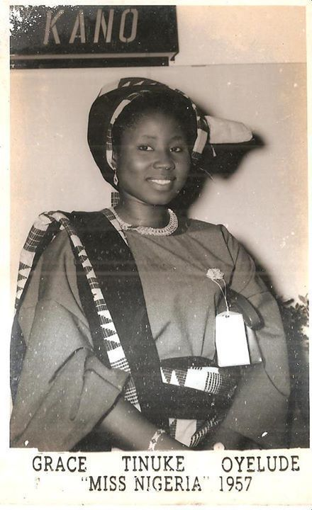 Meet the first ever Miss Nigeria, Grace Oyelude, who still looks graceful at 86