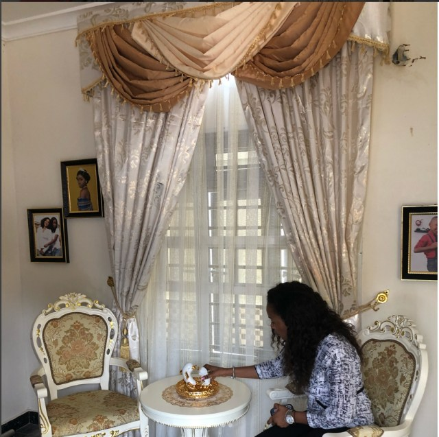 Decorating New Home: Mercy Aigbe Flaunts Interior Decor Of Her New House