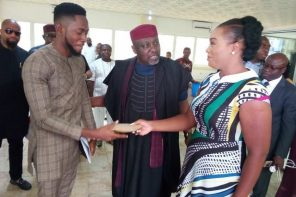 Miracle receives $25,000 (over N9 million) from Governor Rochas Okorocha