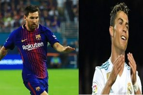 Ronaldo sends a message to Messi after his unveiling as Juventus player