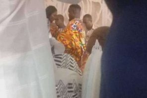 """Rapper Sarkodie """"Weds"""" Longtime Lover Tracy In Ghana"""
