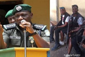 """SARS operatives are doing a wonderful job"" – Inspector General of Police, Ibrahim Idris Kpotum says"